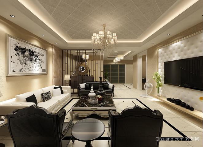 三室一厅简约婚房装修效果图