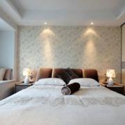 小户型日式白色优雅卧室图例
