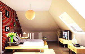 现代阁楼简约风格客厅装饰