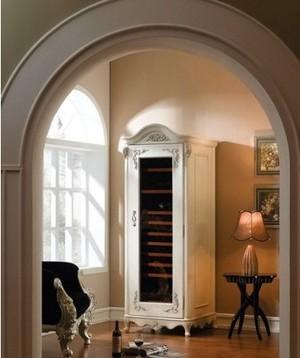 欧式风格客厅拱门装饰