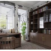 有韵味的书房书架