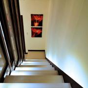 简约风格深色系楼梯装饰