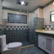 地中海风格卫生间淋浴装饰