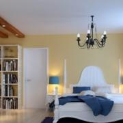 清爽精巧的卧室