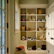 北欧风格清新玄关整体鞋柜装饰