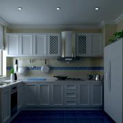 欧式简约风格小户型厨房装饰