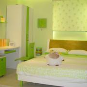 现代清新风格儿童房衣柜装饰