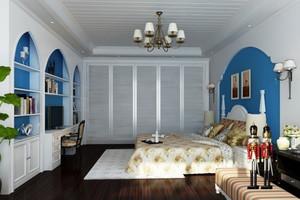 地中海风格卧室装修效果图欣赏
