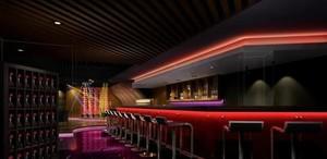 酷炫酒吧吧台设计装修效果图