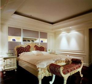 巴洛克卧室装修设计效果图