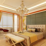 三室一厅卧室精致灯饰装饰