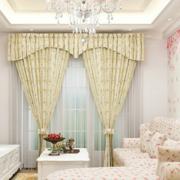 韩式田园风格客厅飘窗装饰