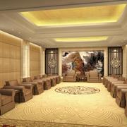 现代大型时尚中式会所