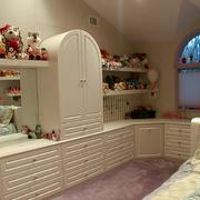 房间背景墙淡雅式
