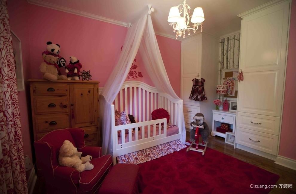 婴儿儿童房装修效果图