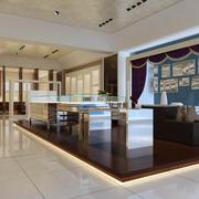 欧式经典风格展厅置物架装饰