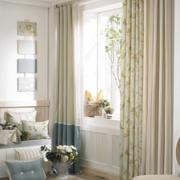 法式简约风格客厅飘窗装饰