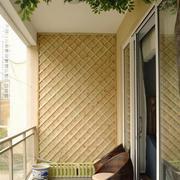 东南亚风格清新推拉门装饰