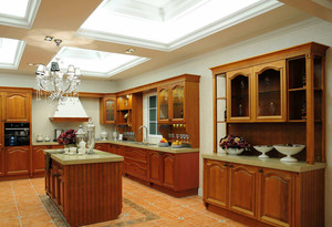 美式厨房橱柜装饰