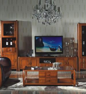 新中式风格客厅时尚组合电视柜装修效果图