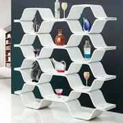 现代简约创意风格书架装饰