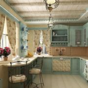 地中海简约厨房飘窗装饰