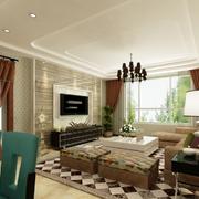 三居室婚房现代款