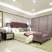 巴洛克浅色系卧室装饰