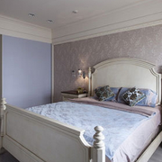 欧式简约风格卧室壁纸装饰