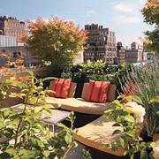 屋顶花园简约风格沙发装饰