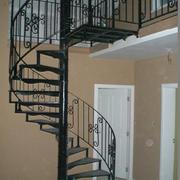 现代铁艺楼梯设计