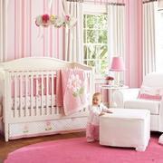 欧式粉色系儿童房效果图