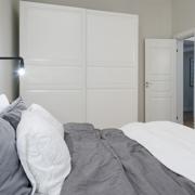 新款公寓灰色优雅卧室图例