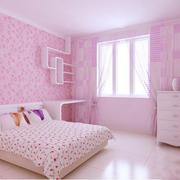 欧式粉色卧室
