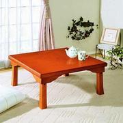 日式小户型白色公寓简约红色折叠餐桌