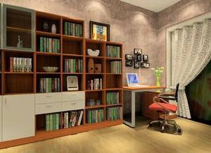 精美大户型书柜