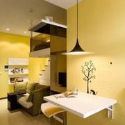 单身公寓折叠餐桌