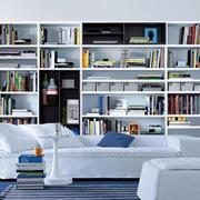 精美小户型分层书柜