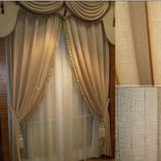 暖色调的窗帘