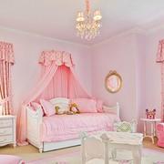 粉色甜美儿童房卧室