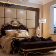 美观实用的卧室背景墙