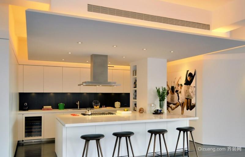 现代简约风格厨房装修设计效果图