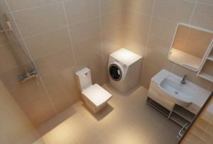 大户型现代卫生间设计装修效果图