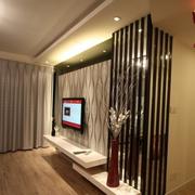 家居瓷砖电视背景墙