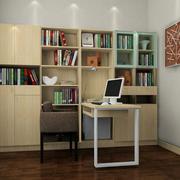 复式楼家常简约实用型书柜