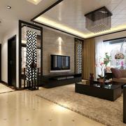 新中式家居客厅
