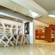 现代高端店面背景墙设计