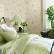 清新绿色卧室图片