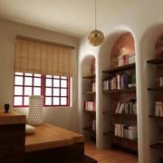 唯美型书房效果图片