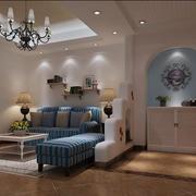 地中海风格客厅欣赏